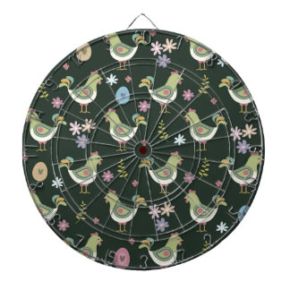 Easter Pattern Dartboard