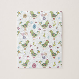 Easter Pattern Jigsaw Puzzle
