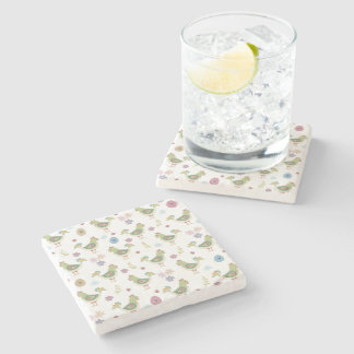 Easter Pattern Stone Coaster