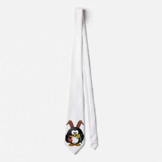 Easter Penguin Tie