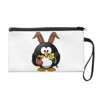 Easter Penguin Wristlet