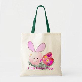 Easter Piggy Tote Bag