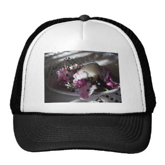 Easter place setting trucker hat