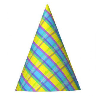 Easter Plaid Party Hat