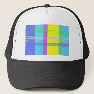 Easter Plaid Trucker Hat