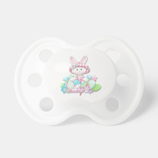 Easter - Pretty Quilted Bunny Pacifier
