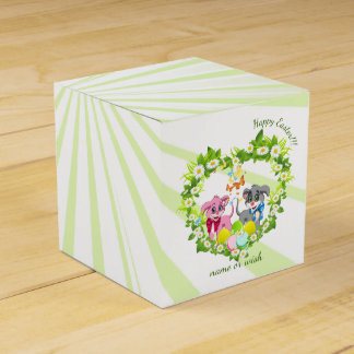Easter Puppies Favor Box