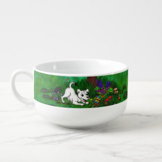 Easter - Puppy Capo and Butterfly Soup Mug