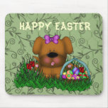 Easter Puppy Mousepad