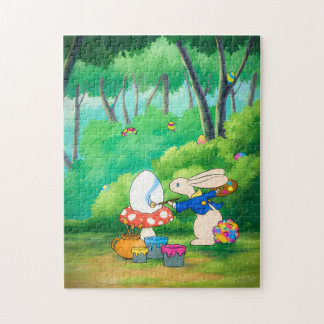 Easter puzzling Bunny Jigsaw Puzzle