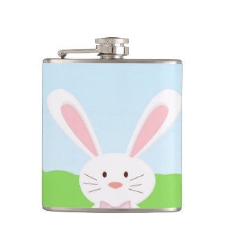 Easter rabbit flasks