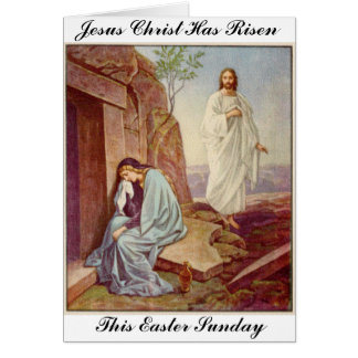 Easter Resurrection Day Card