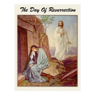 Easter Resurrection Day Postcard