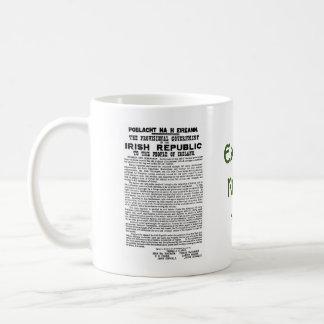 Easter Rising 1916 Irish Republican Proclaimation Classic White Coffee Mug