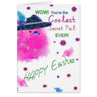 EASTER - SECRET PAL - COOLEST SP EVER GREETING CARD
