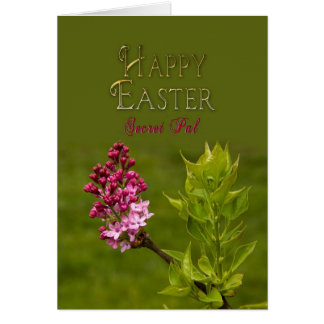 EASTER - SECRET PAL - LILACS GREETING CARDS