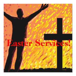 Easter Services Church Invitation