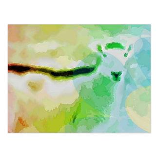 Easter Sheep Postcard