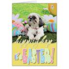 Easter - Shih Tzu - Sophie Card