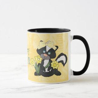 Easter Skunk mug