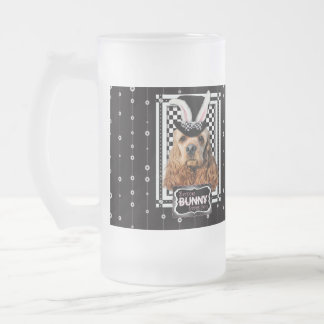 Easter - Some Bunny Loves You - Cocker Spaniel Frosted Glass Beer Mug