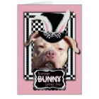 Easter - Some Bunny Loves You - Pitbull Card