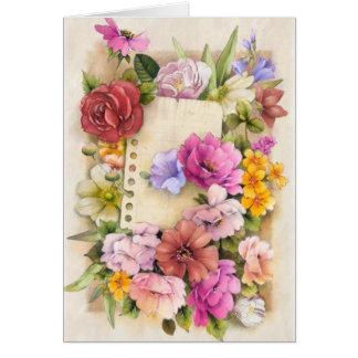 Easter, spring card