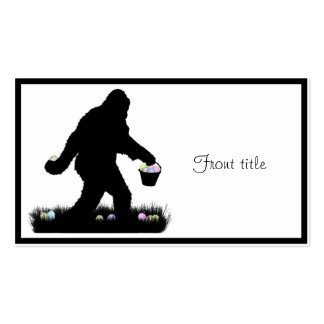 Easter Squatch Business Cards