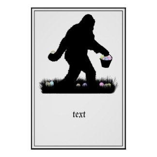 Easter Squatch Poster