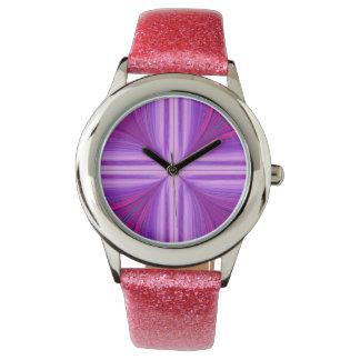 Easter Sunday Sunrise Resurrection Fractal Wristwatches