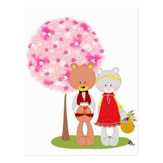 Easter/ The Bear Family Postcard