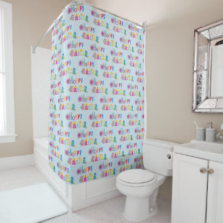 Easter-themed Shower Curtain