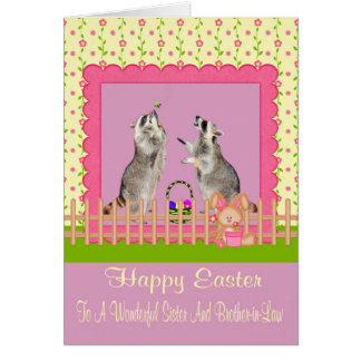 Easter To Sister And Brother-in-Law Greeting Card