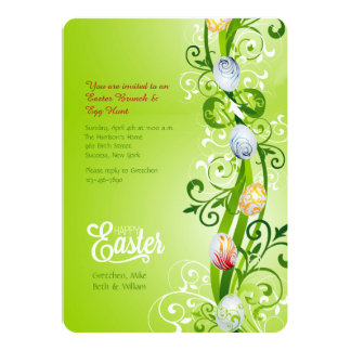 Easter Vine Greeting Card
