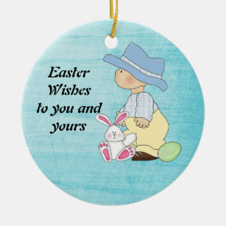 Easter Wishes ornament