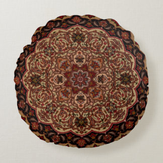 Eastern Accent Vintage Persian Pattern Round Pillow