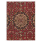 Eastern Accent Vintage Persian Pattern Tablecloth