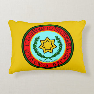 Eastern Band of Cherokee Accent Pillow