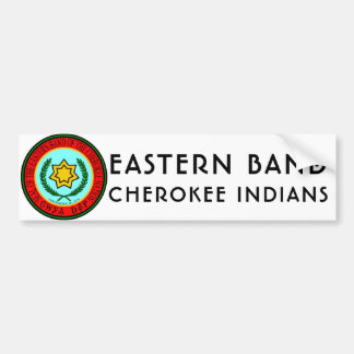 Eastern Band of Cherokee Indians Bumper Sticker