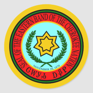Eastern Band Of The Cherokee Seal
