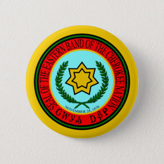 Eastern Band Of The Cherokee Seal 2 Inch Round Button