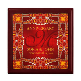 Eastern Bohemian Wedding Anniversary Gift Box