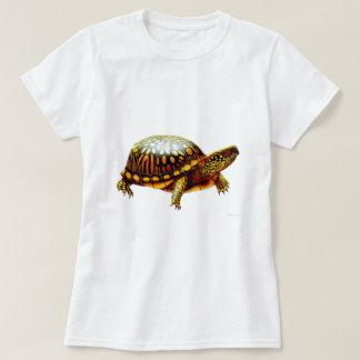 Eastern Box Turtle Ladies Babydoll Shirt