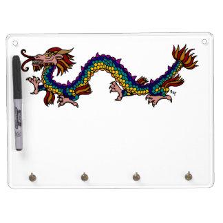 Eastern Dragon Dry Erase Board With Keychain Holder