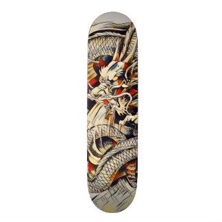 Eastern Dragon Ninja Scroll Element Pro Park Deck Skateboard