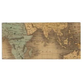 Eastern Hemisphere 9 Wood USB 2.0 Flash Drive