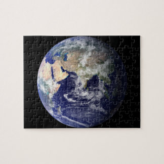 Eastern Hemisphere of Earth From Space Jigsaw Puzzle