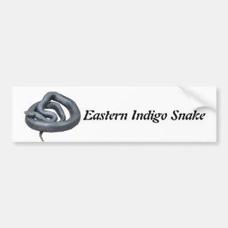 Eastern Indigo Snake Bumper Sticker