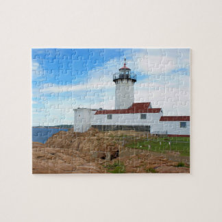 Eastern Point Lighthouse, Gloucester Massachusetts Jigsaw Puzzle
