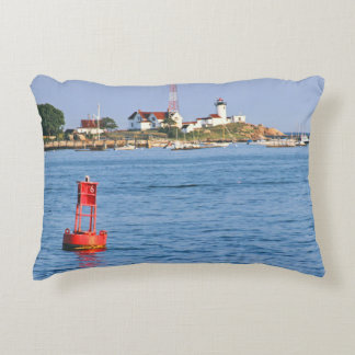 Eastern Point Lighthouse MA Accent Pillow